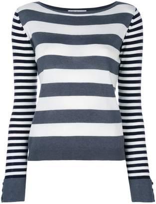 Max Mara Marica striped-knit sweater