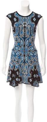 Torn By Ronny Kobo Sleeveless A-Line Mini Dress