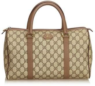 Gucci Vintage Guccissima Boston Bag