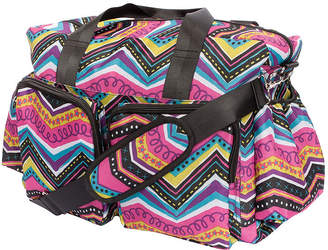 Trend Lab TREND LAB, LLC Modern Chevron Deluxe Duffel Diaper Bag