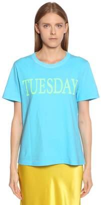 Alberta Ferretti Tuesday Cotton Jersey T-Shirt