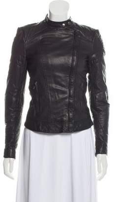 Muu Baa Muubaa Quilted Leather Jacket