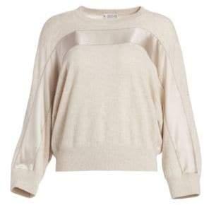 Brunello Cucinelli Cashmere Stripe Sweater