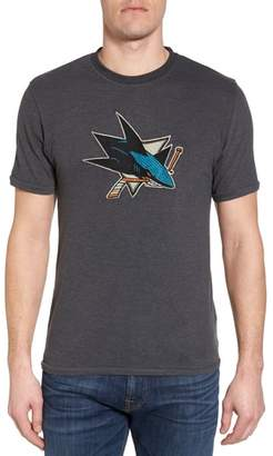 American Needle Hillwood San Jose Sharks Embroidered T-Shirt