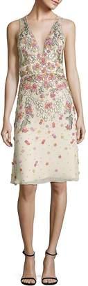 Jenny Packham Women's Sleeveless Embellished Dress