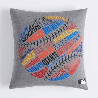 Pottery Barn Teen Sports League All Team MLB Pillow Cover, 18 x 18, MLB