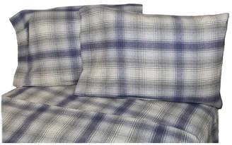 La Rochelle Flannel Plaid Sheet Set California King Bedding
