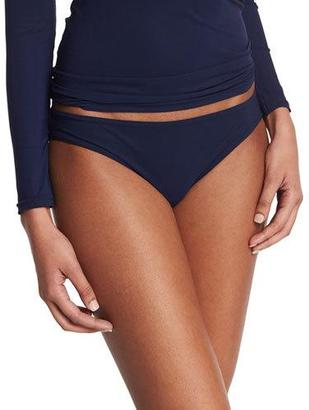 Karla Colletto Basic Hip Swim Bottoms, Navy $131 thestylecure.com