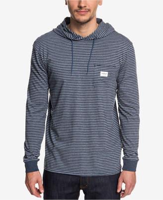 Quiksilver Men's Zermet Stripe Hooded T-Shirt