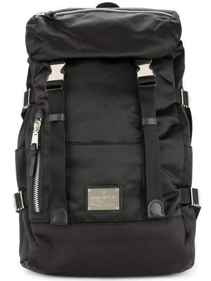 Makavelic double belt backpack