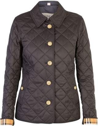 Burberry Black Frankie Quilted Jacket