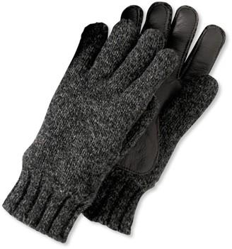 L.L. Bean L.L.Bean Men's Ragg Wool Gloves