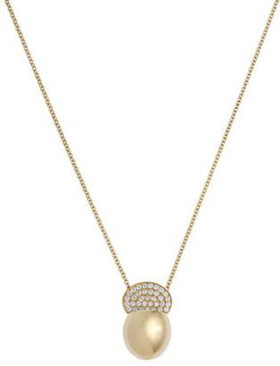 Ladybird ISTANBOULLI GIOIELLI 18k Diamond Pendant Necklace, 0.46tcw