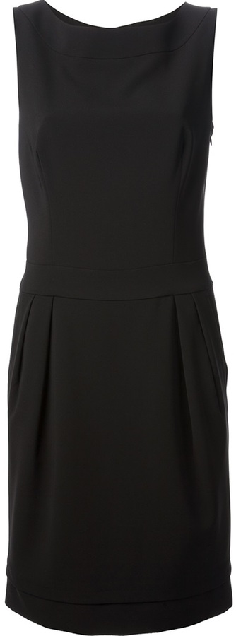 Moschino open bow back dress