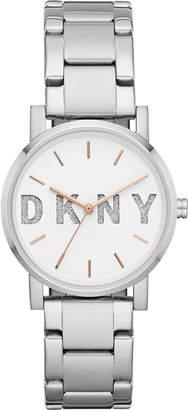 DKNY Women's SoHo Stainless Steel Bracelet Watch 34mm