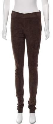 Joseph Suede Leather Pants