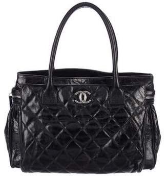 Chanel Glazed Calfskin New Portobello Tote