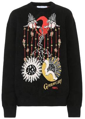 Givenchy Printed cotton sweatshirt