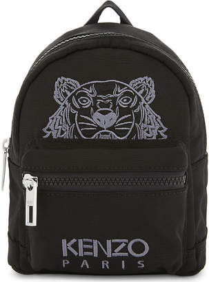 Kenzo Embroidered tiger mini backpack $147 thestylecure.com