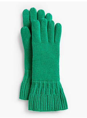 Talbots Ruffle-Edge Gloves