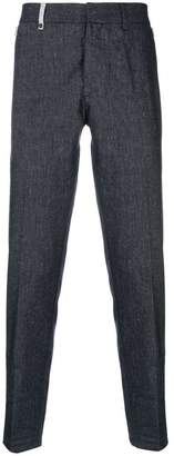 Al Duca D'Aosta 1902 textured trousers