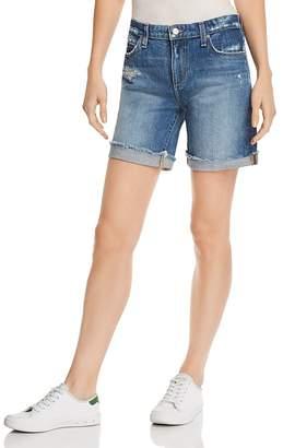 Joe's Jeans Roll-Up Denim Shorts in Lannah