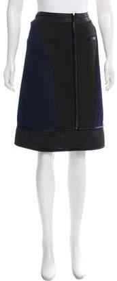 Ohne Titel Two-Tone Al-line Skirt