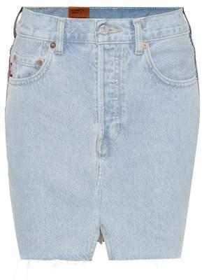 Vetements X Levi's® denim miniskirt