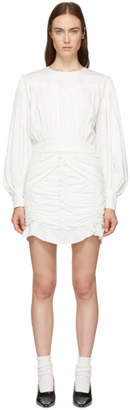 Isabel Marant White Unice Dress