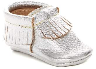 First Steps Leather Fringe Moccasin (Baby & Toddler)