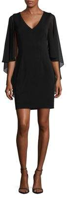 Vince Camuto Sheer Formal Dress