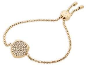 Michael Kors Beyond Brilliant Pave Slider Bracelet/Goldtone