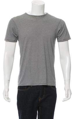 Armani Collezioni Striped Crew Neck T-Shirt