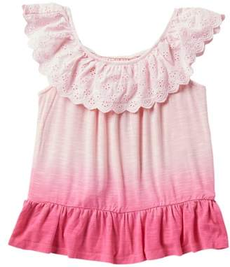 Design History Dip Dye Top (Toddler & Little Girls)