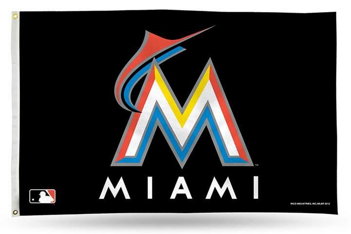 Miami Marlins Banner Flag