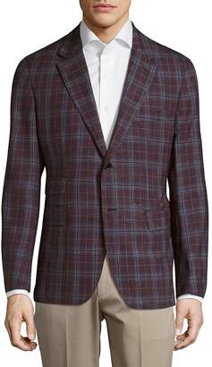 Façonnable Men's Checkered Jacket