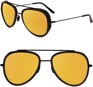 Vuarnet Pilot Edge 54mm Aviator Sunglasses