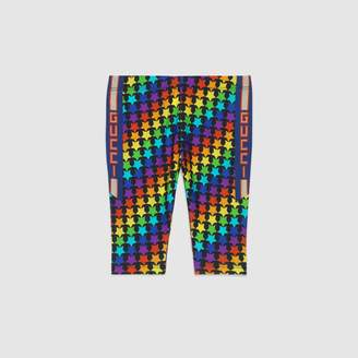 Gucci Baby rainbow star print leggings
