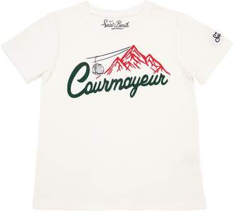 MC2 Saint Barth Courmayeur Print Cotton Jersey T-Shirt