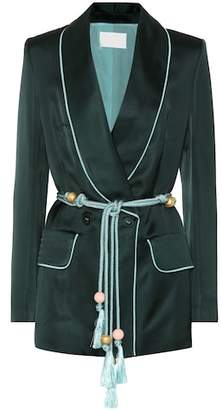 Peter Pilotto Satin blazer