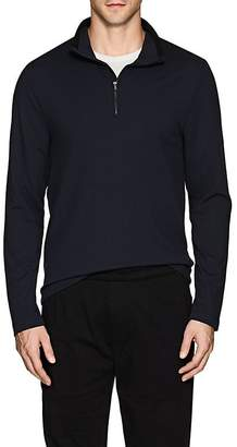 James Perse MEN'S PIQUÉ PULLOVER TOP