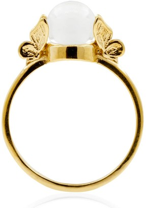 Lee Renee Butterfly Quartz Ring - Gold