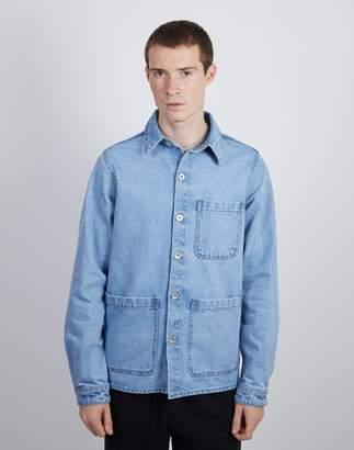 The Idle Man - Denim Chore Jacket