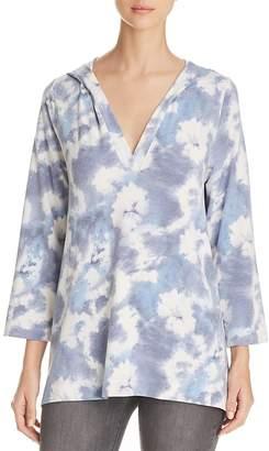 Nally & Millie Tie-Dye Print Hooded Pullover