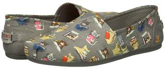 Skechers BOBS from BOBS Plush - Studious Cats Women's Slip on Shoes