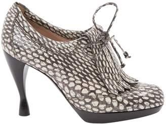 Emporio Armani Leather heels