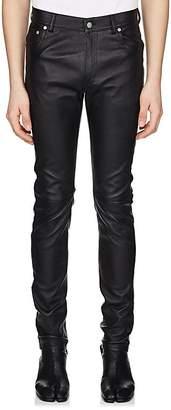 Maison Margiela Men's Leather Jeans