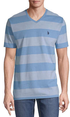 U.S. Polo Assn. USPA Short Sleeve V Neck T-Shirt
