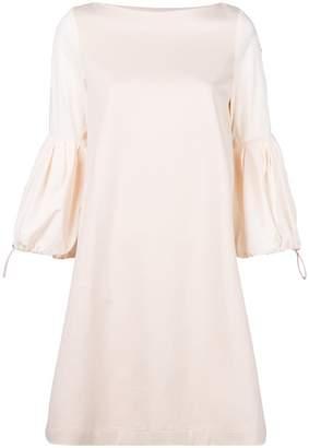Moncler puff sleeve shift dress