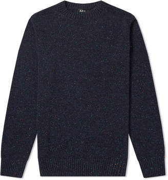 A.P.C. Rory Donegal Crew Knit